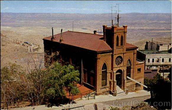 The Holy Family Catholic Church is one of the oldest churches in JErome, AZ